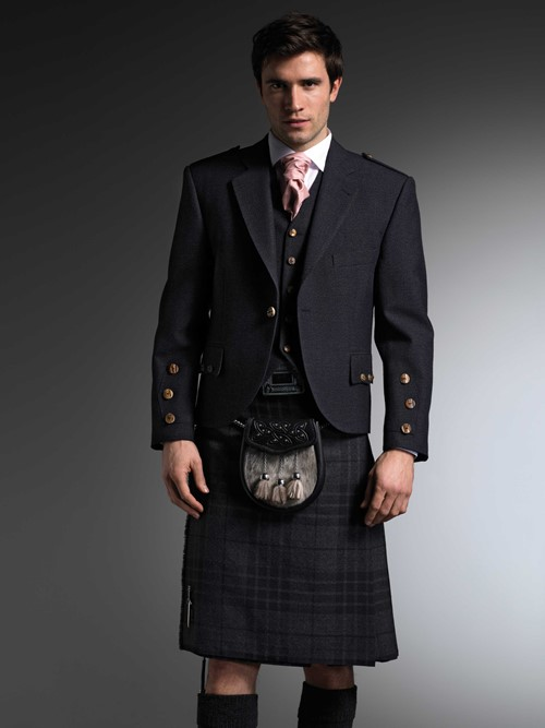 The Grey Spirit Kilt from Kilts 4 U Glasgow