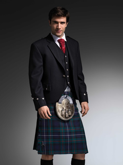 The Modern Robertson Kilt from Kilts 4 U Glasgow