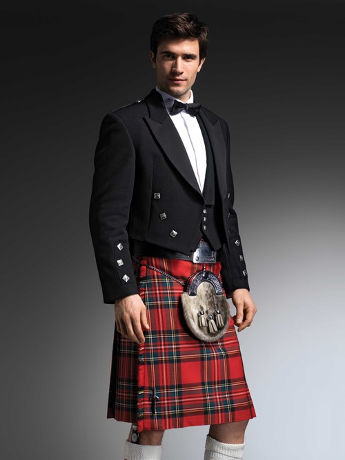 The Royal Stewart Kilt from Kilts 4 U Glasgow