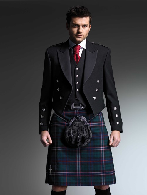 The Scottish National Tartan Kilt from Kilts 4 U Glasgow