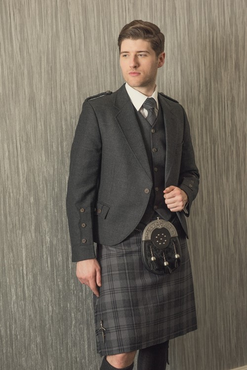 The Silver Highlander Kilt from Kilts 4 U Glasgow
