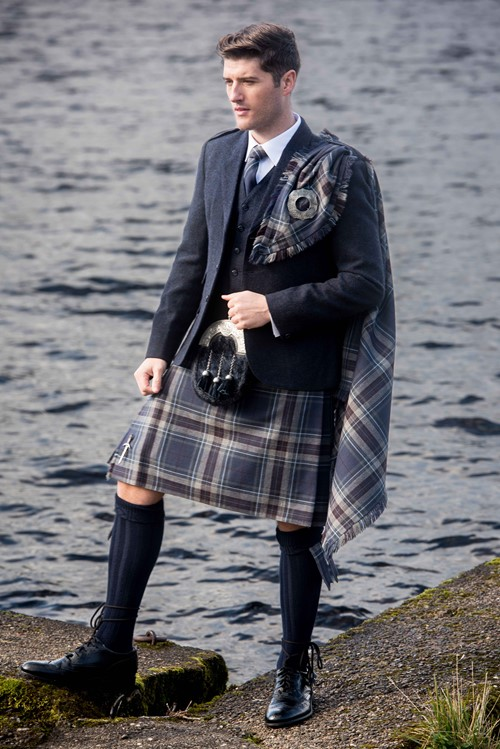 The Spirit of Loch Tay Tartan from Kilts 4 U